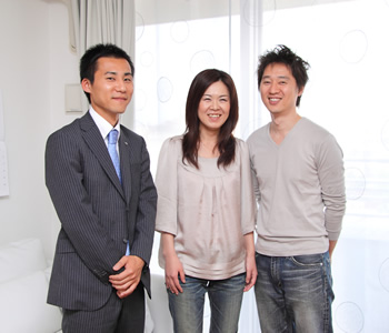 清水氏とFさんご夫婦