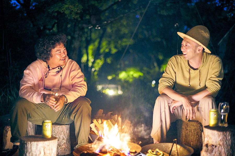 「焚き火を眺めながら語り合うと、深い話も自然とできる」by平 健一